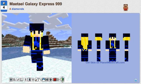 Maetael Galaxy Express 999